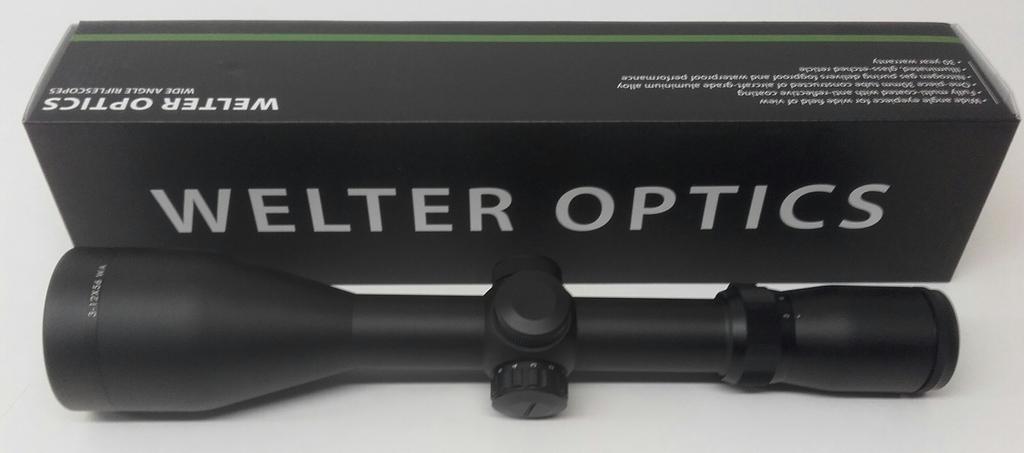 Welter optics 3 12 x56 punapisteell uudet aseliike for 4 4422 c