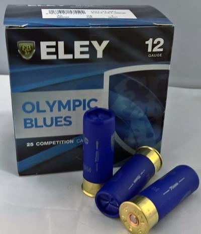 Eley 12/70 Olympics Blues 7 28g 2,4 mm (250 kpl laatikko)