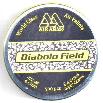 Air Arms Diabolo Field 0,547g / 8,4gr ilma-aseluoti