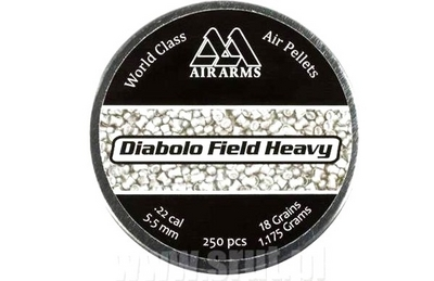 Air Arms Diabolo Field Heavy 1,175g / 18gr ilma-aseluoti