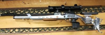 Anschütz Premium S 2, cal 4,5 mm, paineilmakivääri