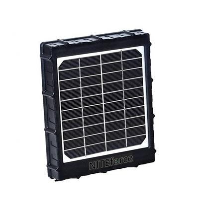 Aurinkopaneeliakku 8000mAh, NITEforce Solar Power Panel