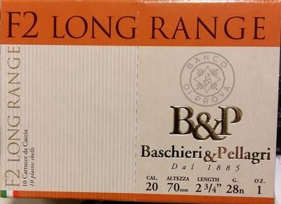 Baschieri & Pellagri F2 long range 28g (10kpl rasia) 20/70