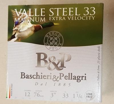 Baschieri & Pellagri Valle Steel 33 Magnum Extra Velocity