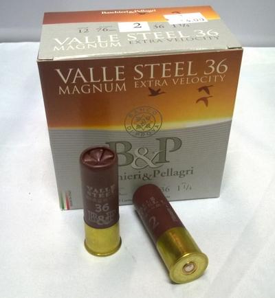 Baschieri & Pellagri Valle Steel Magnum 36g (25kpl rasia) 12/76
