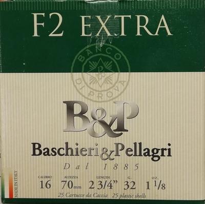 Bashieri & PellagriF2 32 g 2,90 mm 16/70 (25 kpl rasia)