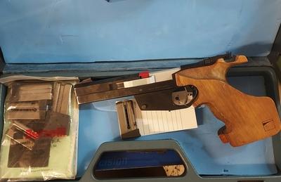 Benelli MP90S, cal .22LR, TT=3