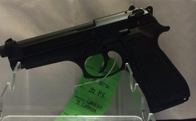 Beretta 92 FS, kal. 9mm, TT3