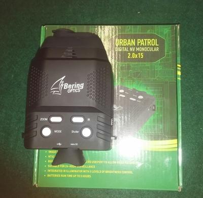 Bering Optics urban Patrol pimeännäkölaite