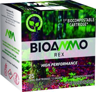 Bioammo REX 9, 2,1mm, 28g, 12/70, 250 ptr