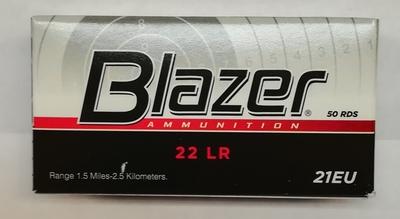 Blazer 22lr 50 patr. rasia