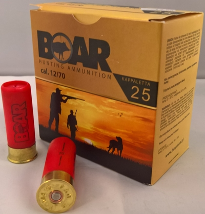 Boar Hunting Ammunition 12/70 32g (25 kpl rasia)