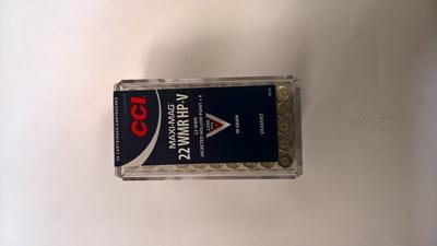 CCI Maxi-Mag HP+V JHP 1,94g / 30gr (50kpl rasia) .22 WMR