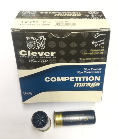 Clever T2 Competition 28 7,5 lyijy 25kpl