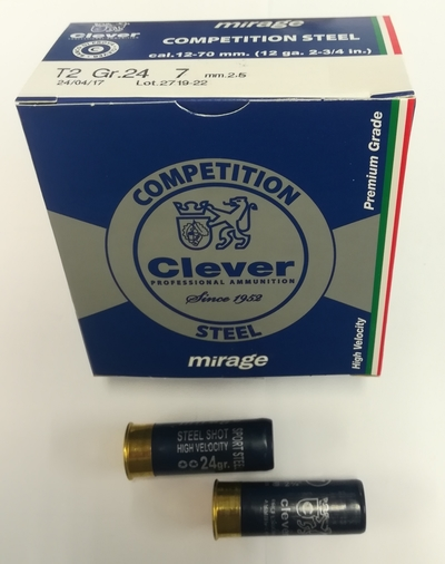 Clever T2 Competition Steel 24g no.7 250kpl