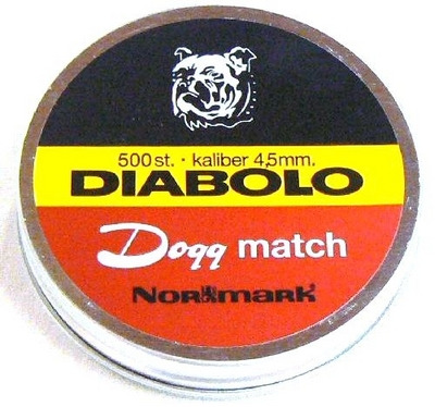 Dogg Match Diabolo 4,5mm ilma-aseluoti