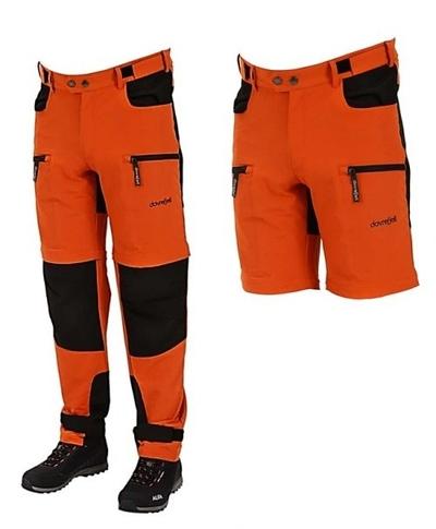 Dovrefjell Custom Fit Zip Off ulkoiluhousut, Sunset Orange