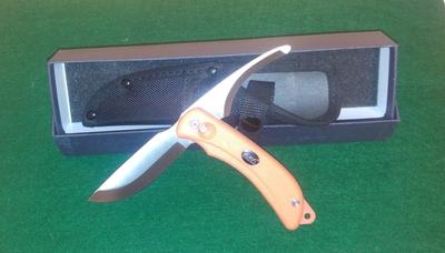 Eka Knivar taittoveitsi, avaus- ja nylkyterällä