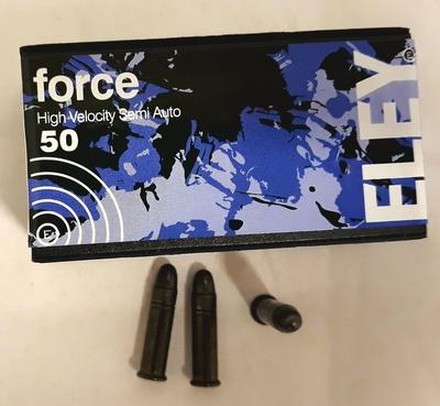 Eley .22 LR Force 2,7g 381m/s