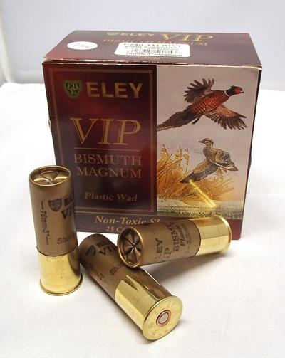 Eley VIP Bismuth Magnum 46g 3,50mm #3 (25kpl rasia) 12/76
