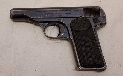 FN Browning M1910, cal 7,65, TT=3