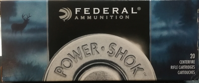 Federal 223 55grain soft point 20kpl