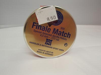 Finale match 4,5mm-.177 cal