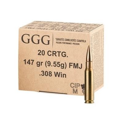 GGG .308 FMJ 9,55g (147gr) 20ptr