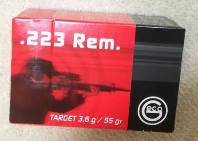 Geco .223 REM VM 3,6G, 50kpl