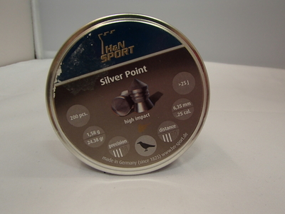 H&N SPORT Silver Point 6,35mm-.25 cal