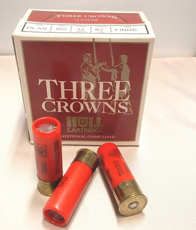 Hull Three Crowns 12/67 34 g  8,6 mm (25 kpl rasia)