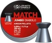 JSB Jumbo Diabolo Match 0,89g / 13,73gr ilma-aseluoti