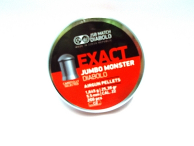 JSB Jumbo Exact Monster Diabolo 1,645g / 25,39gr ilma-aseluoti