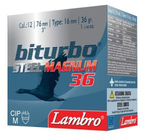 Lambro Biturbo Steel Magnum 36 12/76