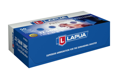 Lapua S&W LWC 5.35 G / 83 gr C427 / .32