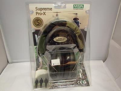 MSA Supreme Pro-X kuulosuojaimet