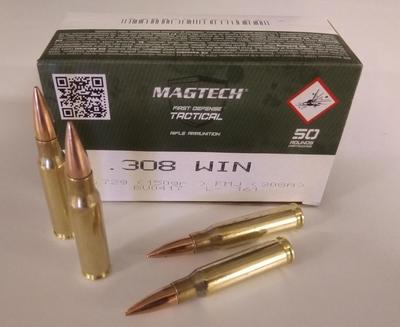 Magtech 308 Win FMC 150 gr/9.72g (50 kpl rasia)