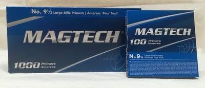 Magtech Large Rifle 9,5 Nalli 1000kpl