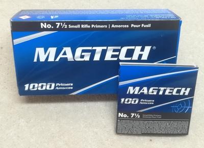 Magtech Small Rifle 7,5 Nalli 100kpl
