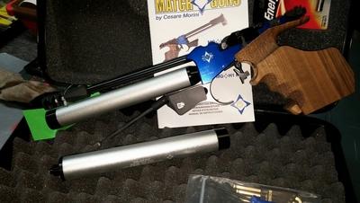 Matchguns MGH1 Hybrid,cal 4,5 mm, painilmapistooli