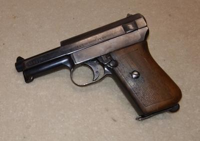 Mauser, cal 7,65 , lupavapaa deco-ase