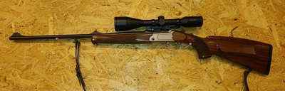 Merkel K3, cal 222 Rem, kertalaukaiskivääri, TT=1