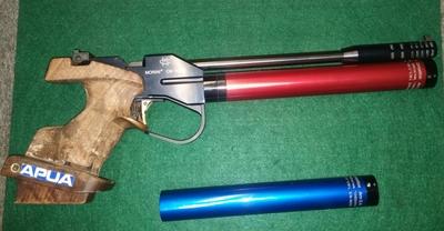 Morini 162 EL, cal 4,5 mm paineilmapistooli
