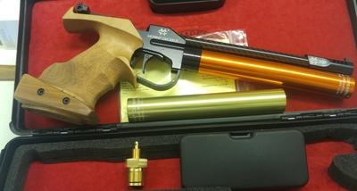 Morini CM200EI, cal 4,5 mm, paineilmapistooli