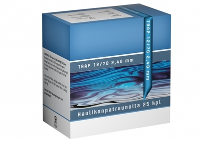 Nordis Trap 12/70, 24 g,  7,5/2,40 mm (250 kpl ltk)