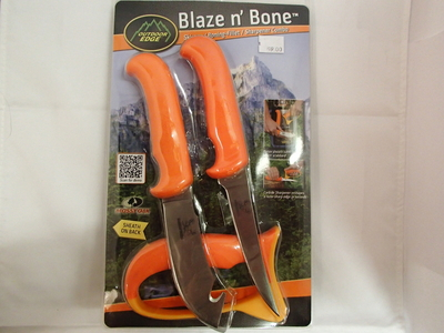 Outdoor Edge Blaze n' Bone lihankäsittely- ja avaus-&nylkyveitsi