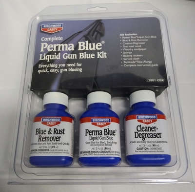 Pirchwood Perma Blue Liquid Gun Blue Kit