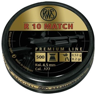 RWS R10 Match Premium Line 0,53g / 8,2gr ilmakivääriluoti