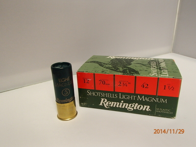 Remington Light Magnum 42g 2,9mm #5 (10kpl rasia) 12/70