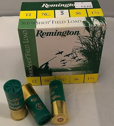 Remington ShurShot 36g  (25kpl rasia) 12/70